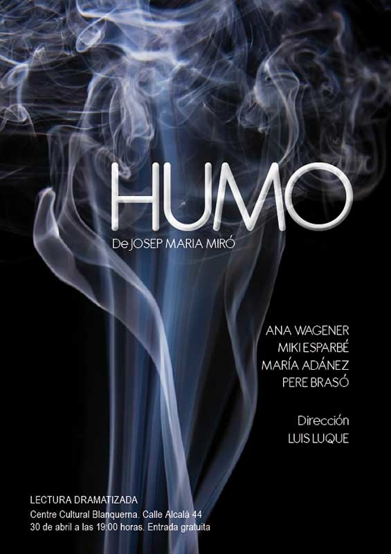 Humo Lectura Blanquerna Cartell 1